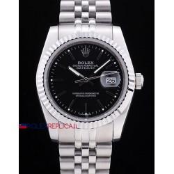 Rolex replica datejust black dial barrette orologio replica copia