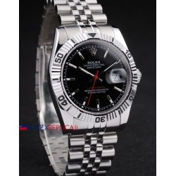 Rolex replica turn-o-graph acciaio black dial orologio replica copia