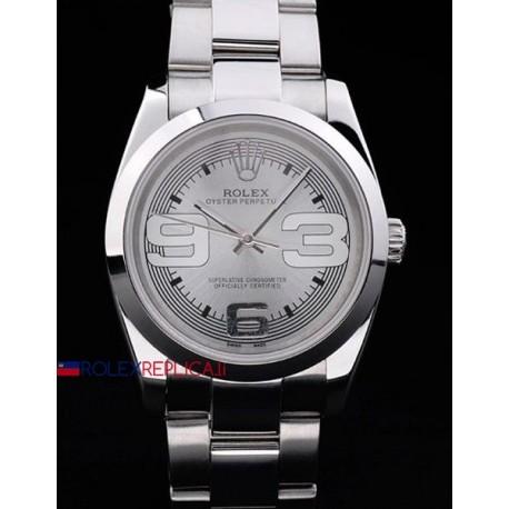 Rolex replica datejust 3-6-9 oyster argentèè orologio replica copia