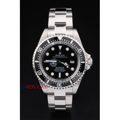 Rolex replica deepsea seadweller 44mm special edition polizia di stato orologio replica copia