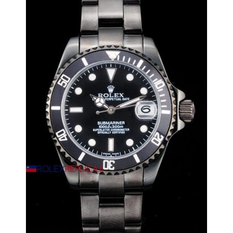 Rolex replica submariner ceramichon pro-hunter pvd orologio replica copia