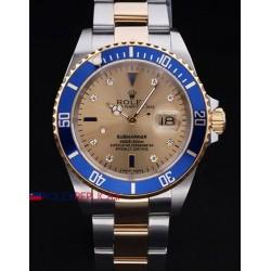 Rolex replica submariner blu acciaio oro 11613 SEL orologio replica copia