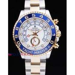 Rolex replica yacht master II regatta ceramichon acciaio oro blue orologio replica copia