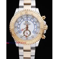Rolex replica yacht master II regatta ceramichon acciaio oro white orologio replica copia