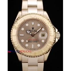 Rolex replica yacht master I oro classic dial orologio replica copia