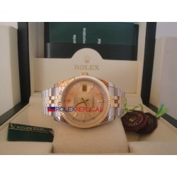 Rolex replica datejust acciaio oro gold barrette orologio replica copia
