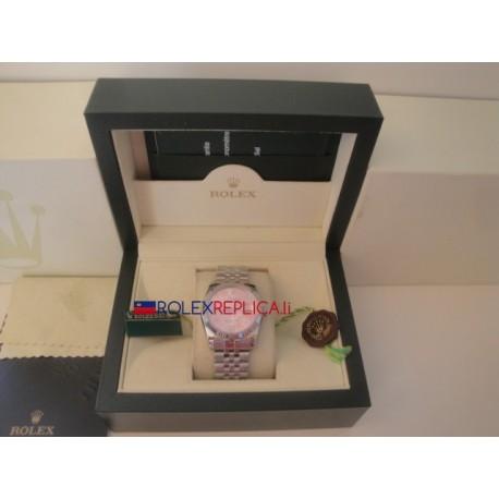 Rolex replica datejust rosèè flower jubilèè orologio replica copia