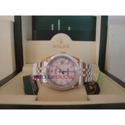 Rolex replica datejust acciaio madreperla barrette orologio replica copia
