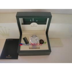 Rolex replica datejust acciaio argentèè roman orologio replica copia