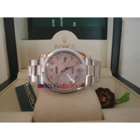 Rolex replica datejust centenario brillantini oyster orologio replica copia