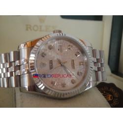 Rolex replica datejust centenario brillantini jubilèè orologio replica copia
