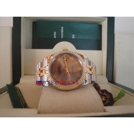Rolex replica datejust acciaio oro argentèè roman orologio replica copia