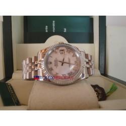 Rolex replica datejust madreperla roman orologio replica copia