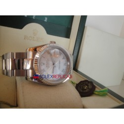 Rolex replica datejust madreperla roman oyster orologio replica copia