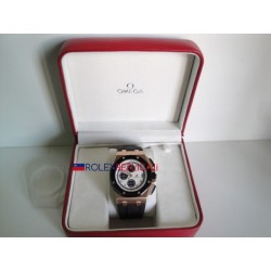 Audemars Piguet replica royal oak offshore chrono new gommino rose gold dial panda orologio replica copia