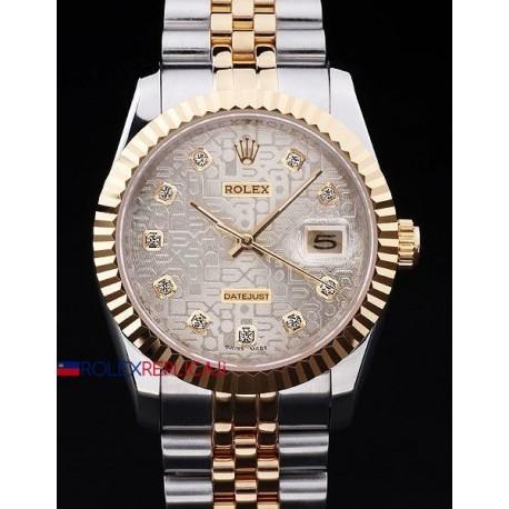 Rolex replica datejust acciaio oro argentèè centenario orologio replica copia
