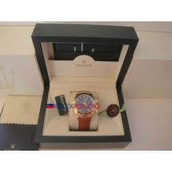 Rolex replica daytona sport vip pelle 116509 orologio replica copia