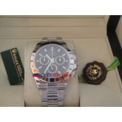 Rolex replica daytona classic acciaio black dial orologio replica copia