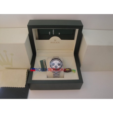 Rolex replica daytona 6245 white dial paul newman orologio replica copia