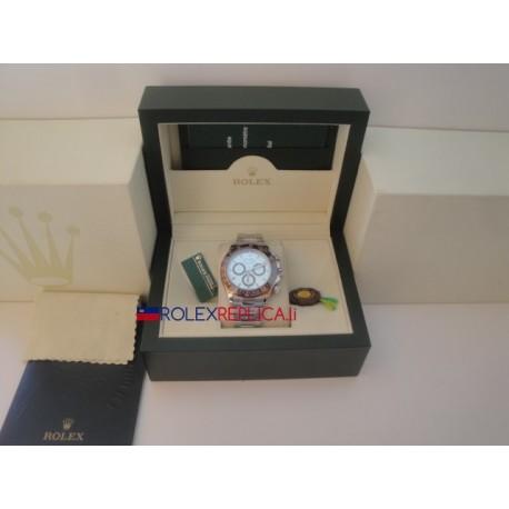 Rolex replica daytona ice ceramichon brown bezel orologio replica copia
