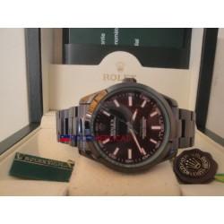 Rolex replica milgauss pro-hunter PVD green sapphire orologio replica copia