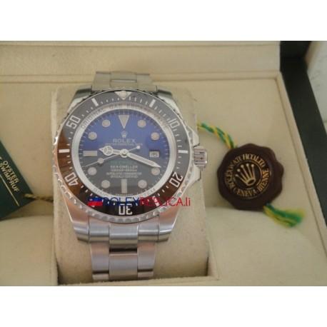 Rolex replica deepsea seadweller 44mm d-blue orologio replica copia