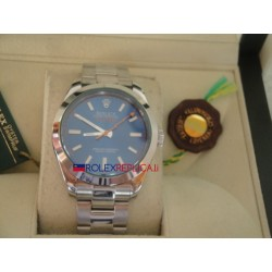 Rolex replica milgauss classic blue dial orologio replica copia