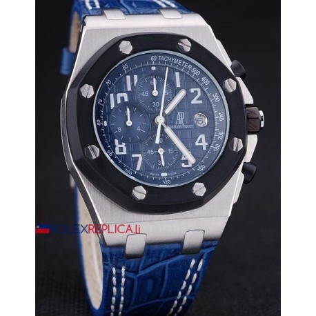 Audemars Piguet replica royal oak offshore chrono navy blue dial orologio replica copia
