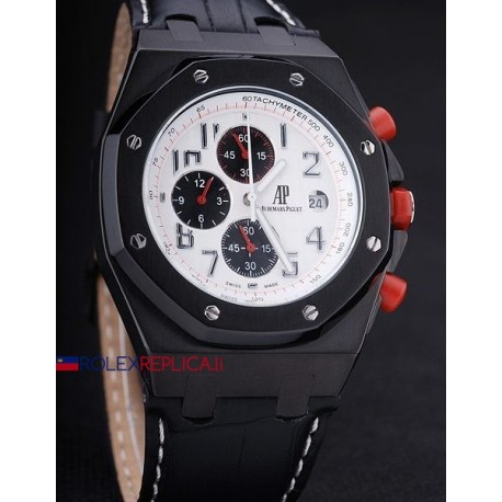 Audemars Piguet replica royal oak offshore chrono singapore gp dial panda orologio replica copia