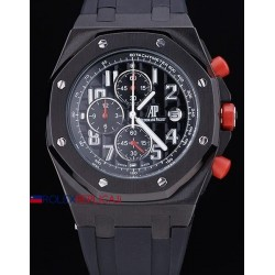 Audemars Piguet replica royal oak offshore chrono singapore gp black dial orologio replica copia