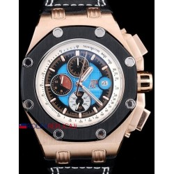 Audemars Piguet replica royal oak offshore chrono rubens barrichello rose gold orologio replica copia