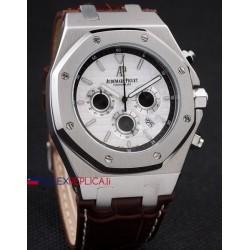 Audemars Piguet replica royal oak offshore chrono 30th anniversary acciaio white dial orologio replica copia