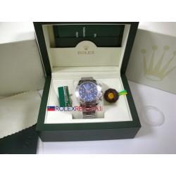 Rolex replica daytona new basilea oro bianco blue dial orologio replica copia