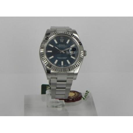 Rolex replica date just white roman dial orologio replica copia