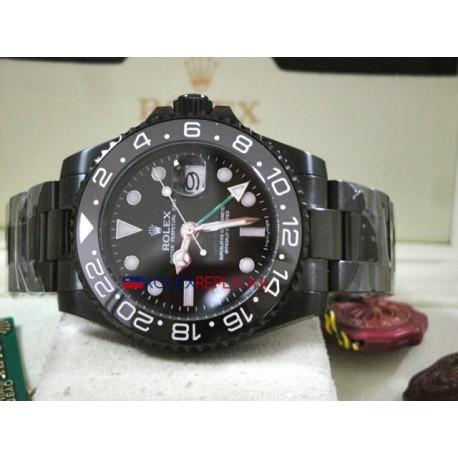 Rolex replica GMT master II 116710LN pro-hunter PVD orologio replica copia