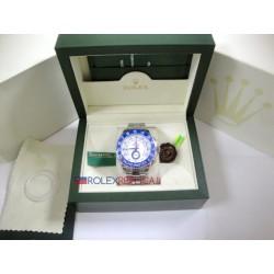 Rolex replica yacht master II regatta ceramichon oro bianco blue orologio replica copia