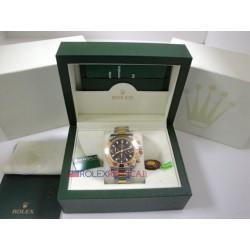 Rolex replica daytona acciaio oro black dial orologio replica copia