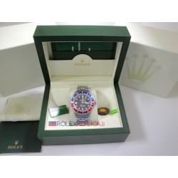 Rolex replica GMT master II classic rosso blu orologio replica copia