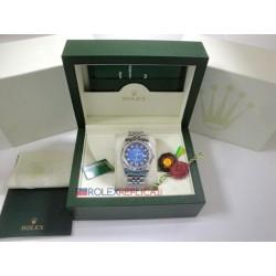 Rolex replica datejust acciaio d-blue jubilèè orologio replica copia