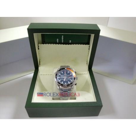 Omega replica seamaster 007 co-axial black dial imitazione replica orologio