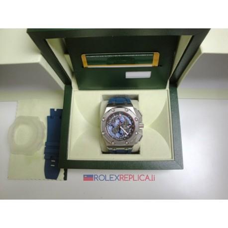 Audemars Piguet replica royal oak offshore chrono michael schumacher platinum orologio replica copia
