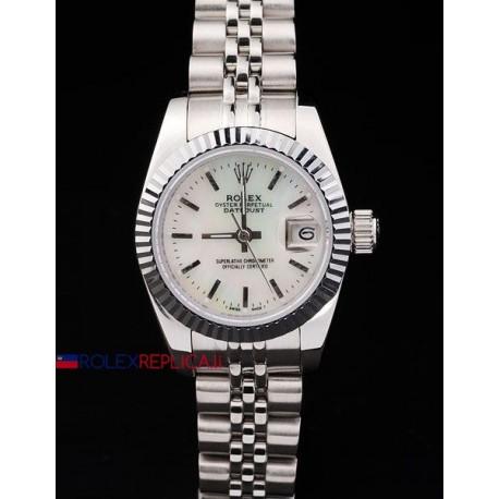 Rolex replica datejust lady madreperla barrette orologio replica copia