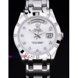 Rolex replica daydate pearlmaster white dial orologio replica copia