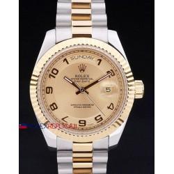 Rolex replica daydate acciaio oro gold arab orologio replica copia