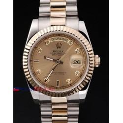 Rolex replica daydate acciaio oro brillantini orologio replica copia