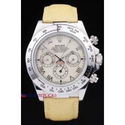 Rolex replica daytona beach vip yellow strip orologio replica copia
