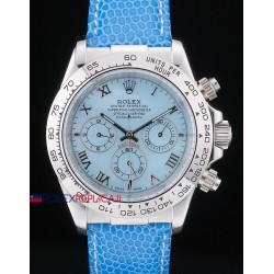 Rolex replica daytona beach vip celeste strip orologio replica copia