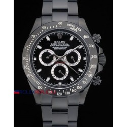 Rolex replica daytona pro-hunter black dial orologio replica copia