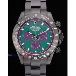 Rolex replica daytona pro-hunter PVD bamford green special dial orologio replica copia