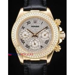 Rolex replica daytona SARU strip leather orologio replica copia